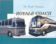1992 Monaco Royale Bus Motorhome RV Brochure Prevost wj7179-JZXFZE