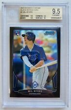 2013 Bowman Chrome Wil Myers Rookie Black Refractor /15 BGS 9.5 True Gem+ 🔥⚾️