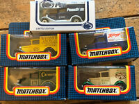 Lot Of 5 Boxed Matchbox Collectable MB 38 Fors Model A Vans Penn State Carmelle