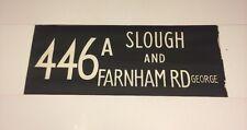 "Windsor Bus Blind 1973 33""- 446a Slough & Farnham Road George"