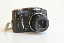 Canon PowerShot SX130 IS 12.1 MP Digital HD 12X Optical Camera Black