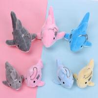 dekor mini - plüsch - puppe hai gefüllt. koffer - anhänger schlüsselanhänger