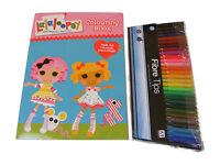 Lalaloopsy color / Para Colorear Libro y 30 color ROTULADORES