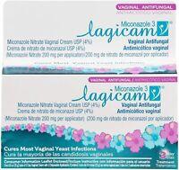 Lagicam 3-Day Feminine Hygiene Treatment for Women - Includes Cream and Disposab