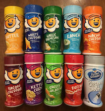 10 Kernel Season's Sampler seasons Potato Popcorn Seasoning 10 flavor sampler