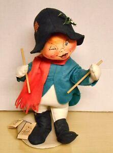 "1998 Annalee Mobitee #7226 Drummer Boy 18"" doll. Rare! w/tag EX"