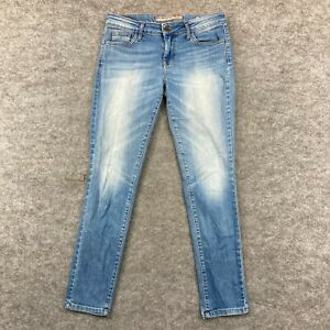 Guess Womens Jeans Size 29 Blue Skinny Mid Rise Stretch Denim Curvy 306.09