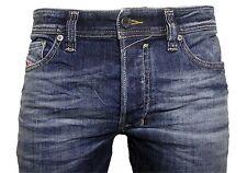 Diesel Herren Stretch Jeans SAFADO 0885K d.blau verwaschen Gr. 38/34  NEU