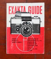 Book: Focal Camera Guide For Exakta/178514