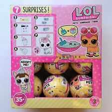 LOL Surprise Pets, Series 3, Box of 18 Balls With Display Case