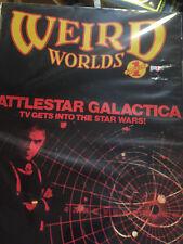 Battlestar Galactica Weird Worlds Dykstra Roddenberry Magazine Number 1 1978