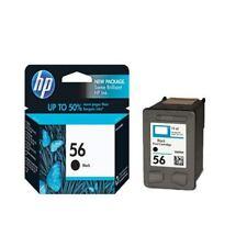 HP 56 Noir Jet d'encre Cartouche C6656AE, facile à installer [HPC6656AE]