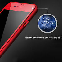 3D Red  Full Curved Cover Tempered Glass Screen Protector For iPhone 6+/6s Plus