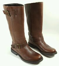 Steve Madden brown leather boots  UK 4 Eu 37
