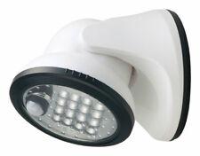 Fulcrum  LIGHT IT  Motion-Sensing  Battery Powered  White  Porch Light