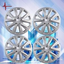 "For 2013-2017 Nissan Sentra Hub Cap ABS Silver 15"" Inch Rim Wheel Skin Cover"