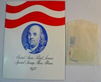 Sealed 1972 Special Mini Album Mint Set USPS Souvenir Yearbook with Stamps