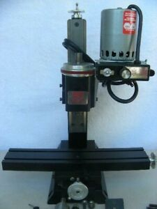 "** Sherline Model 5000 10"" Vertical Milling Machine ** Great Condition **"