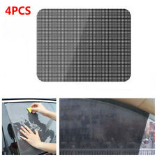 "4Pcs Reusable PVC Car Window Sun Shade Cover Static Cling Screen 16 1/2"" x 15"""
