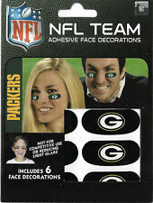 Green Bay Packers fans eyeblacks, gameday decoration, free shipping