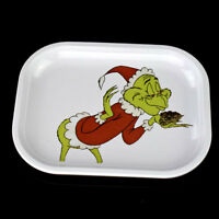 "1*PC White ""MINI"" TRAY Cute Fashion Style METAL Rolling Tray"