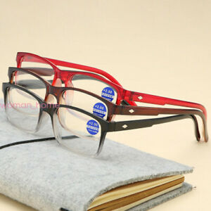 Unisex Reading Glasses Anti Blue Light Lens Frame +1.0+1.5+2.0+2.5+3.0+3.5+4.0