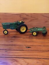 Vintage Ertl John Deere 3020 Toy farm tractor with attachment