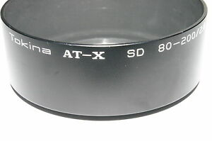 Tokina AT-X SD 80-200/2.8 72mm Metal Lens Hood for 80-200mm f2.8