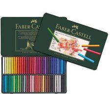 #128560 faber castell boîte de 60 polychromos pastels crayons artistes craft art set