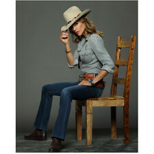 Killer Women with Tricia Helfer as Molly Parker Tipping Hat 8 x 10 Inch Photo