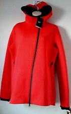 New Nike Therma-Sphere Max Women's Training Jacket Sz Large L Red Black Badgers