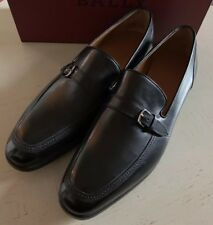New $750 Bally Men Lavoli Leather Oxford Shoes Black 12 US ( 45 Eu ) Switzerland
