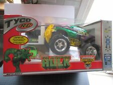 VINTAGE TYCO R/C MARVEL INCREDIBLE HULK MONSTER JAM TRUCK NISB VERY RARE 2003