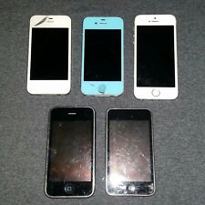Phone Lot - Apple Lot - 2 Work - 3 Iphones - For Parts/Repair