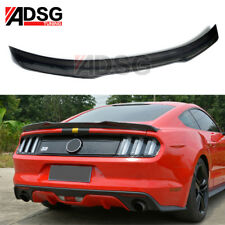 For Ford Mustang 2-Door Coupe Carbon fiber rear boot spoiler wing Lip 2015- IN