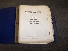 Ford 2000 3000 4000 5000 Tractor Workshop Shop Service Repair Manual Guide Book