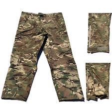 BRITISH ARMY - MTP Goretex Waterproof Genuine Over Trousers Surplus Wet Weather