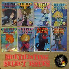 BATTLE ANGEL ALITA - Parts 1-6 MULTILIST - Yukito Kishiro Viz Select Comics CM