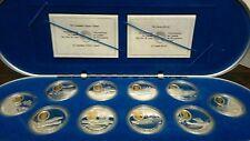 20 DOLLARI CANADESI serie completa GLI ASSI in argento con cammeo in oro