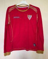 FC SEVILLA SPAIN 20082009 AWAY FOOTBALL JERSEY CAMISETA SOCCER SHIRT LONGSLEEVE
