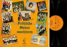LP-- FRÖHLICHE STEIRER MUSIZIEREN / FERNITZER SPITZBUAM // HITZENDORFER SPITZBUA