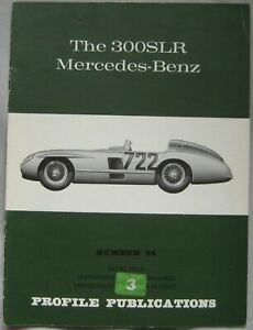 Profile Publications magazine Issue 54 featuring The 300SLR Mercedes-Benz