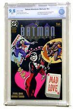 Batman Adventures Mad Love CBCS 9.8 NM/MT White Pages 1994 DC Comics Origin