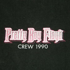 VTG PRETTY BOY FLOYD 1990 WORKING CREW TOUR T-SHIRT GLAM CONCERT motley crue