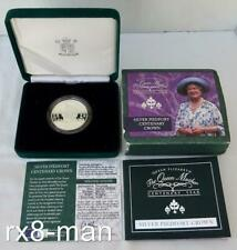 UK 2000 ROYAL MINT THE QUEEN MOTHER CENTENARY SILVER PROOF PIEDFORT CROWN BOXED