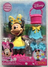 Disney Minnie Mouse Spring Garden Special Edition Figure and Accessories EASTER