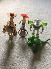 Disney's Toy Story 2-Woody, buzz, jessie, Bullseye & REX-x5 McDonald's Toys.