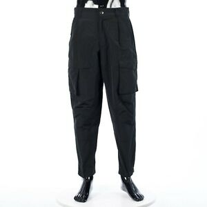 GIVENCHY 1320$ Black Cargo Pants