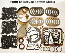 1965 - 1969 FORD C4 Overhaul Rebuild Kit w/ STEELS FILTER BAND C-4 Transmission