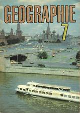 DDR Schulbuch GEOGRAPHIE 7 1989 Sehr gut erhalten Volk und Wissen Ostalgie